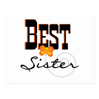 Best Sister T-shirts and Gifts Postcard