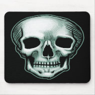 Best Skull in The World, EVER! mousepad mousepad