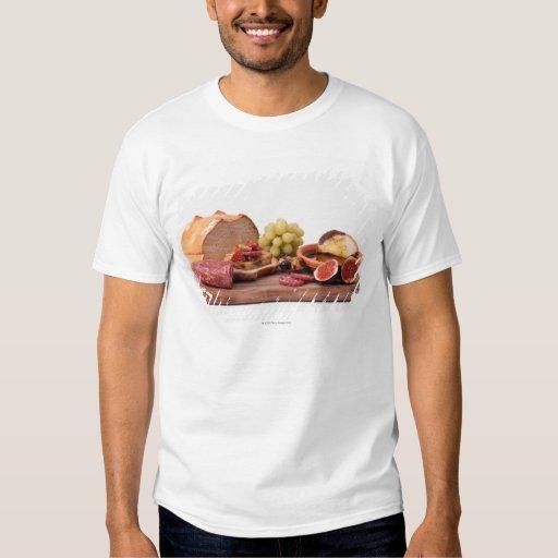 best snacks for wine t-shirt