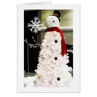 BEST SNOWMAN FOR FRIENDS ACROSS MILES CHRISTMAS CARD