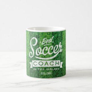 Best Soccer Coach In The Galaxy Coffee Mug