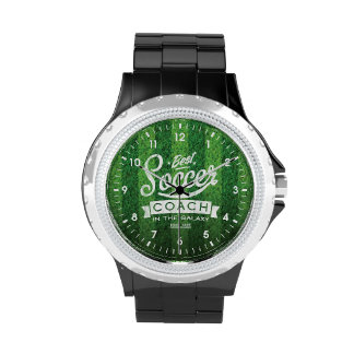 Best Soccer Coach In The Galaxy Wristwatches