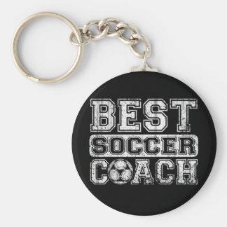 Best Soccer Coach Keychain