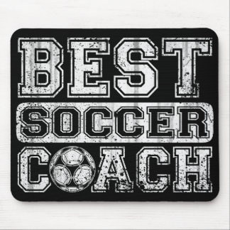 Best Soccer Coach Mouse Pad