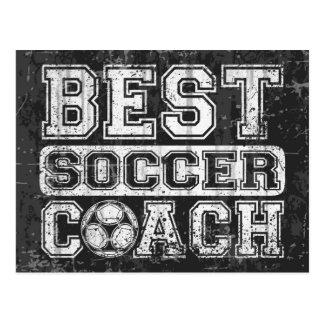 Best Soccer Coach Postcard
