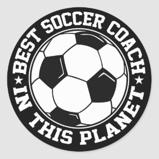 Best Soccer Coach Stickers