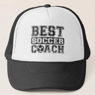 Best Soccer Coach Trucker Hat