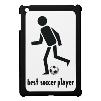 Best soccer player and ball custom gift cover for the iPad mini