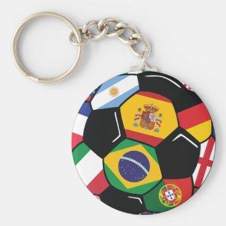 Best Soccer Team Key Chain