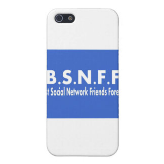 Best Social Network Friends Forever (BSNFF) iPhone 5 Cover