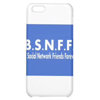 Best Social Network Friends Forever (BSNFF) iPhone 5C Cover