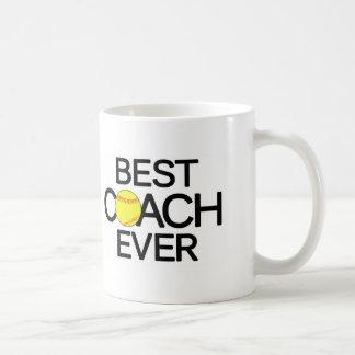 Best Softball Coach Ever Fastpitch Softball Mug