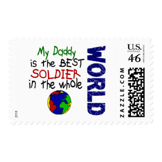 Best Soldier In World 2 (Daddy) Stamps