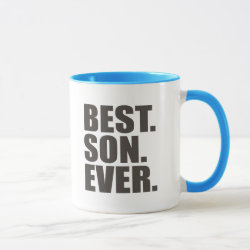 Combo Mug with Best. Son. Ever. design
