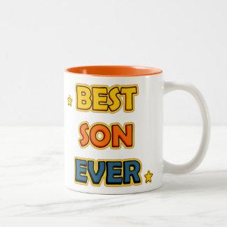 Best Son ever Two-Tone Coffee Mug
