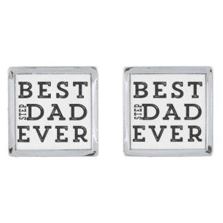 Best Step Dad Ever Cufflinks