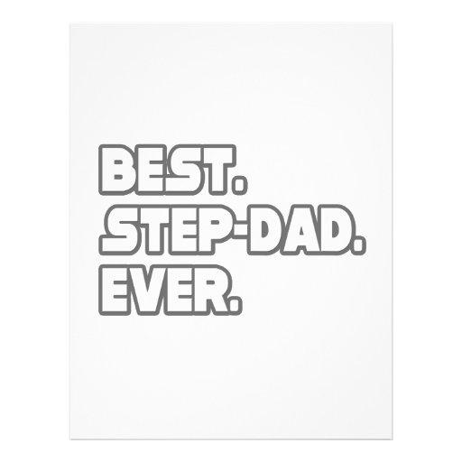 Best Step-Dad Ever Flyer