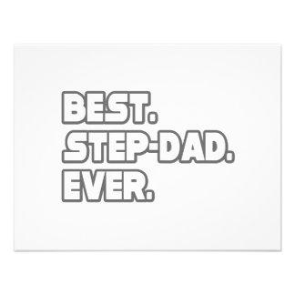 Best Step-Dad Ever Custom Announcement