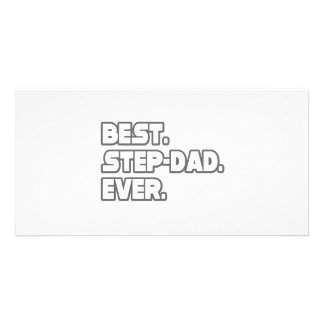 Best Step-Dad Ever Photo Card