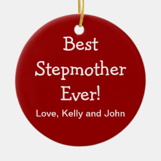 Best Step Mother Ornament