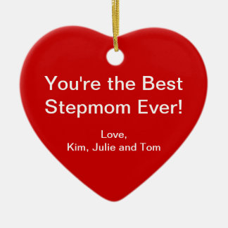 Best Stepmom Ornaments
