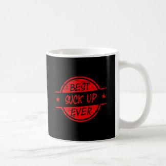 Best Suck Up Ever Red Coffee Mug