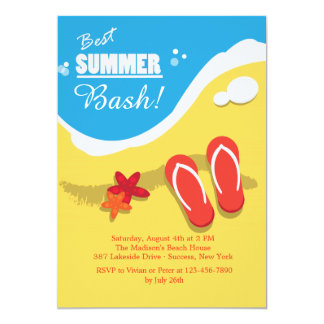 Best Summer Party Invitations