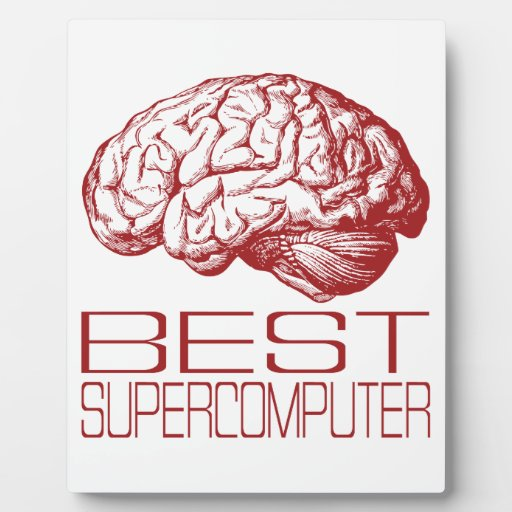 Best Supercomputer Plaque