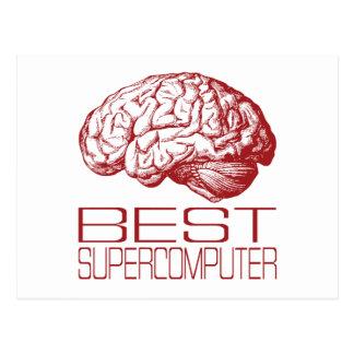 Best Supercomputer Postcard