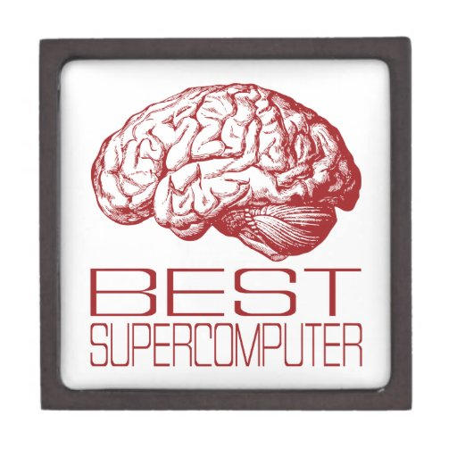 Best Supercomputer Premium Keepsake Boxes