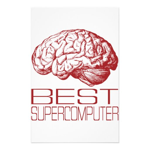 Best Supercomputer Custom Stationery