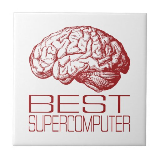 Best Supercomputer Ceramic Tile