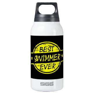 Best Swimmer Ever Yellow Thermos Bottle