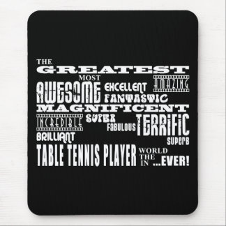 Best Table Tennis Players : Greatest Player Mouse Pad