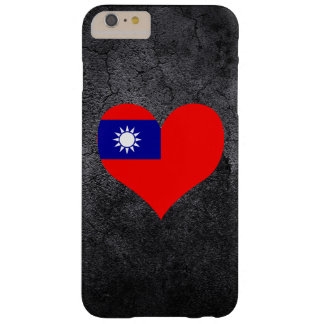 Best Taiwanese Heart flag Barely There iPhone 6 Plus Case