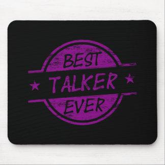 Best Talker Ever Purple Mouse Pad