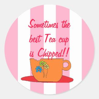 Best tea cup mug stickers