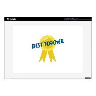 """BEST TEACHER AWARD 15"""" LAPTOP DECALS"""