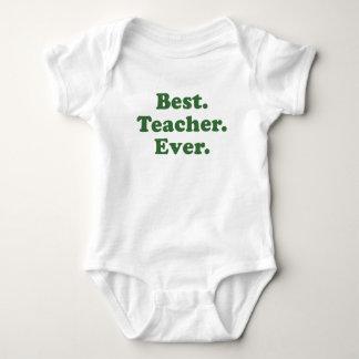 Best Teacher Ever Baby Bodysuit