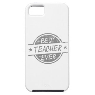 Best Teacher Ever Gray iPhone SE/5/5s Case