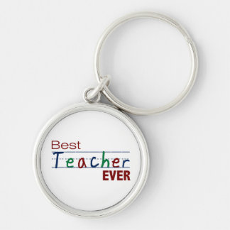 Best Teacher Ever Keychain