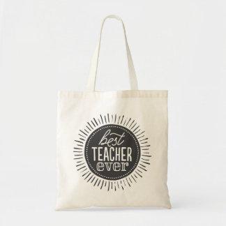 Best Teacher Ever Tote Bag