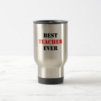 Best Teacher Ever Travel Mug