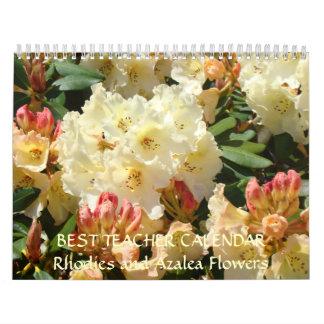 BEST TEACHER Gifts Calendar Azalea Rhodies Gift