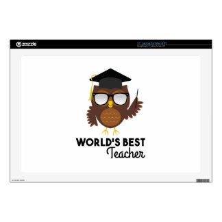 Best Teacher Laptop Decal