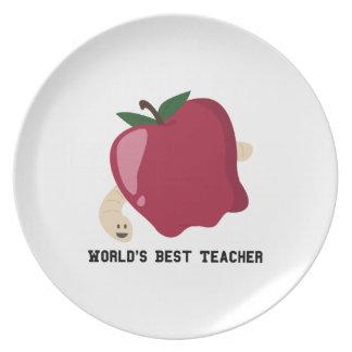 Best Teacher Dinner Plate