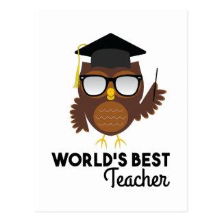 Best Teacher Postcard