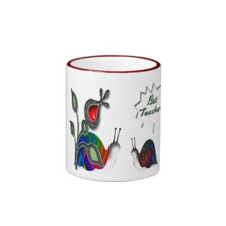 Best Teacher Ringer Mug