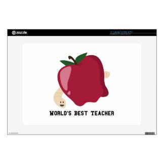"Best Teacher 15"" Laptop Decals"