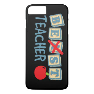Best Teacher Text iPhone 8 Plus/7 Plus Case